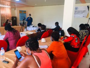 Training of media journalists on SRHR & child rights accurate knowledge & information 23rd-24th-June-2020